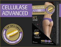 Cellulase Advanced x 40 comprimidos